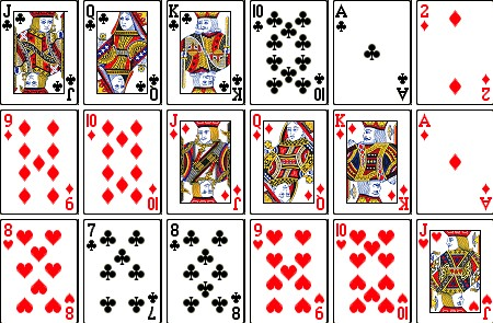 It's just a photo of Playful Playing Cards Printable