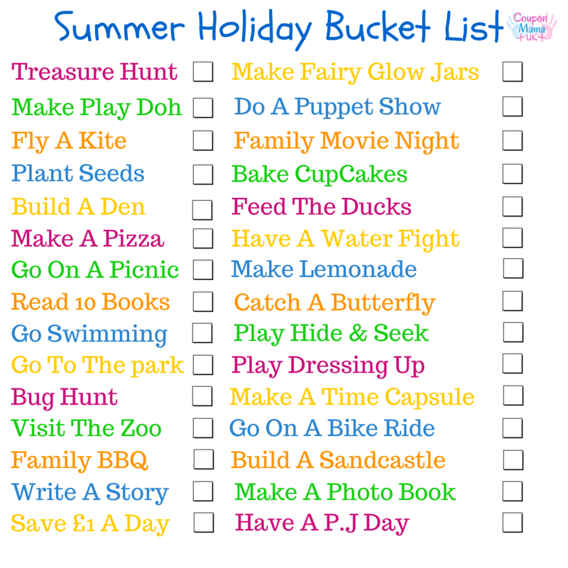sommer bucket lists